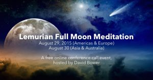 Here's why I'm doing a Lemurian Full Moon Meditation event