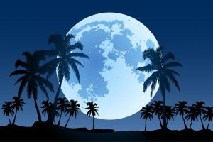 tropical full moon