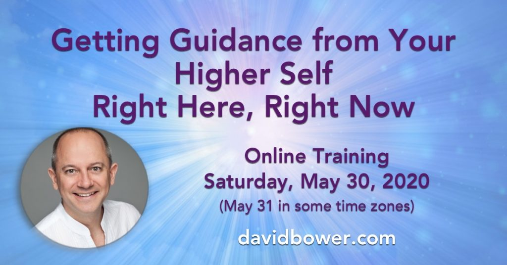 Getting Guidance from Your Higher Self, Right Here, Right Now