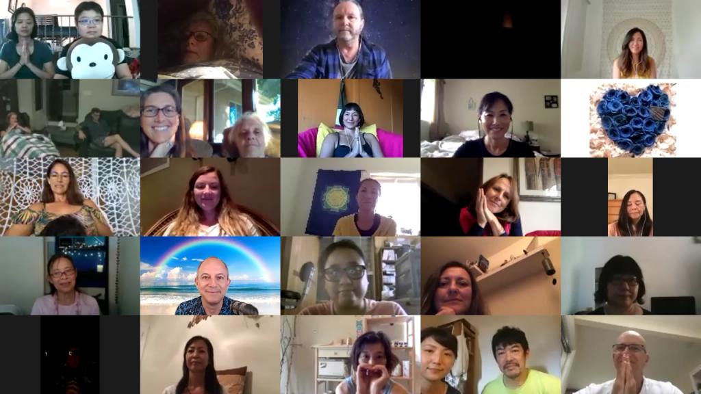 Lemurian Circle online gathering
